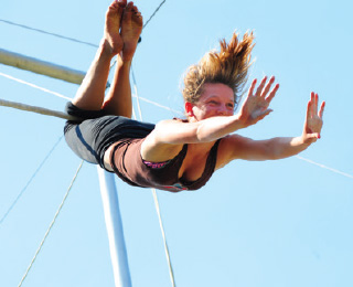 High Flying Trapeze