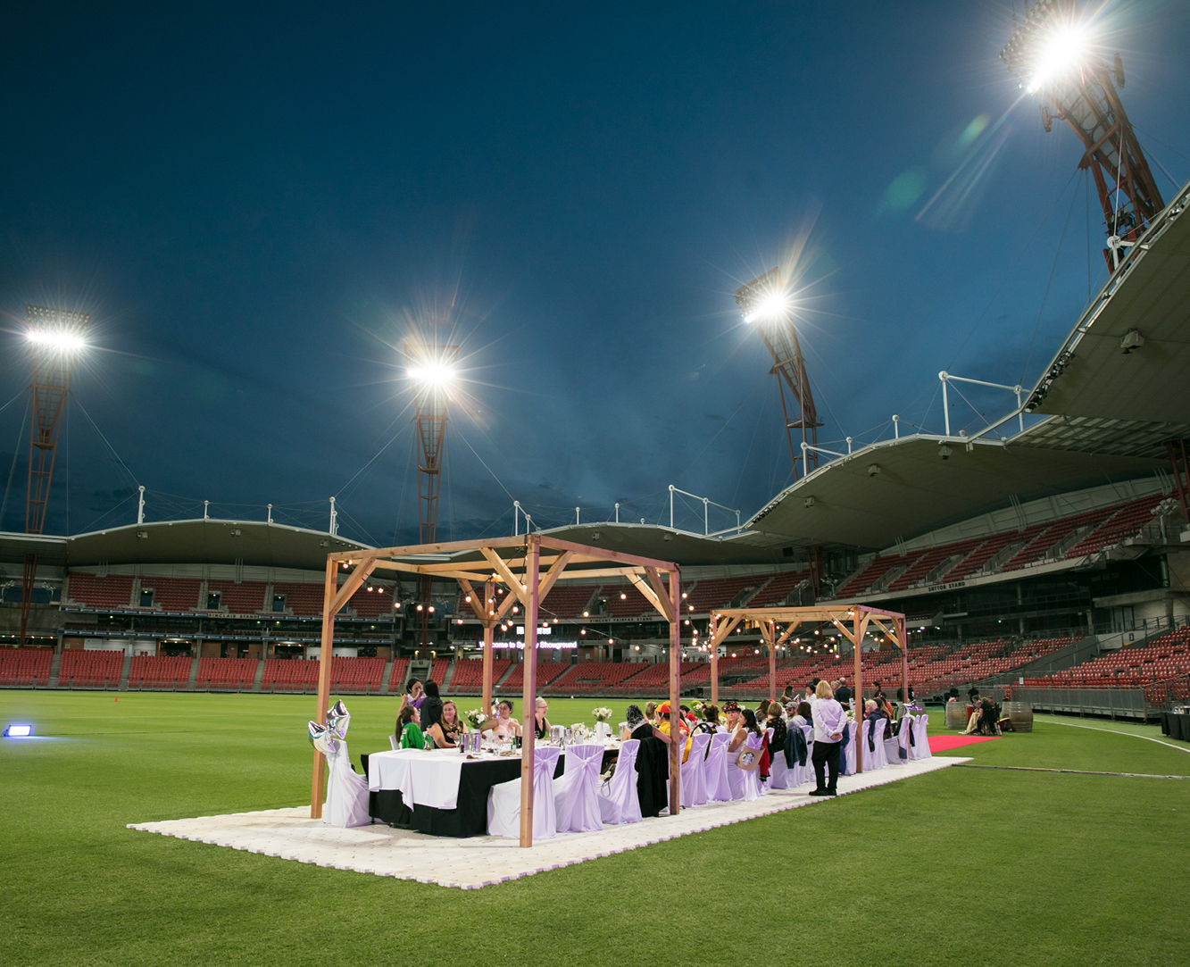 A Night Under the Stars at Spotless Stadium